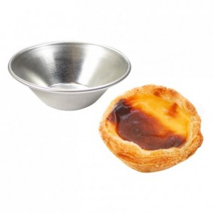 Pasteis de Nata mould tin Ø70 x 20 mm (set of 6)