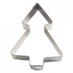 Christmas tree stainless steel H15 60x45 mm