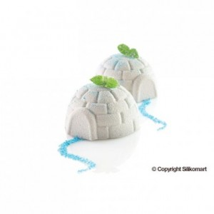 Moule silicone Igloo Ø 76 x 42 mm