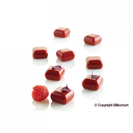 Micro gem silicone mould 23 x 23 x 13 mm