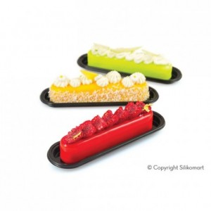Fashion Eclair silicone mould 130 x 25 x 25 mm