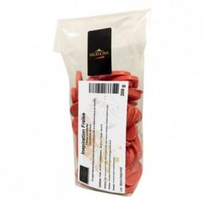 Inspiration Fraise couverture de fruits fèves 200 g