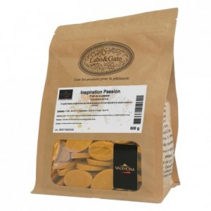 Passionfruit Inspiration fruit couverture beans 500 g