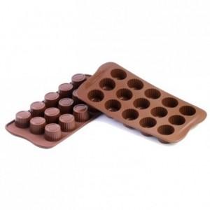 Moule silicone pour chocolat praline Ø 30 x 18,5 mm