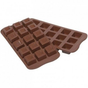 Cubo chocolate silicone mould 26 x 26 x 18 mm