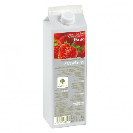 Strawberry purée Ravifruit 1 kg