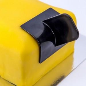 Lisseur d'angle à pâte à sucre bord arrondi Dekofee