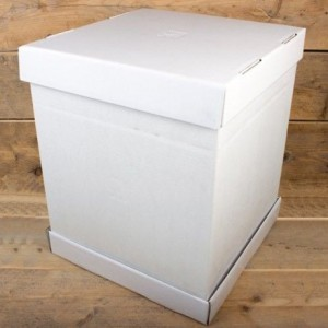 FunCakes Cake Box -Blanco 52x52x70cm