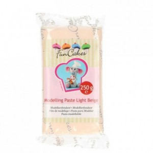 FunCakes Modelling Paste Light Beige -250g