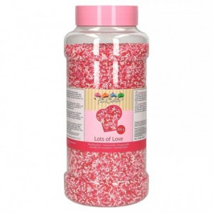 FunCakes Nonpareils Lots of Love 800g