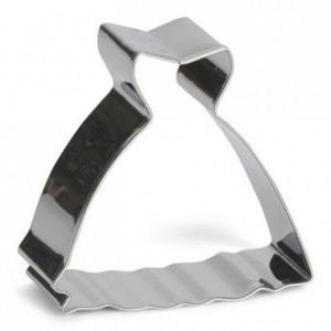 Patisse Cookie Cutter Wedding Dress 6 cm