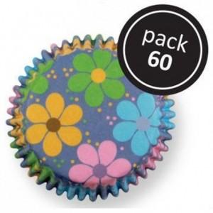 Caissettes à cupcakes PME Flower Power par 60