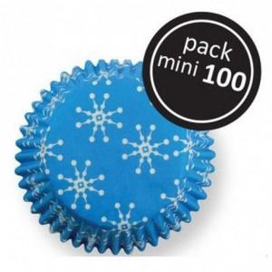 Caissettes à cupcakes PME Mini Snowflakes par 100