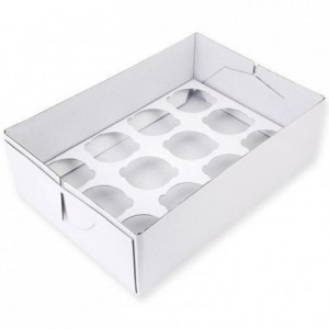 PME Cupcake Box 12 - 9cm high