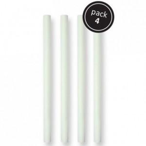 Tiges de soutien plastiques PME 31 cm par 4