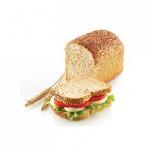Sandwich Bread perforated silicone mould 150 x 100 x 75 mm