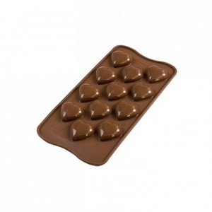 Moule silicone pour chocolat My Love Ø 30 x 15 mm