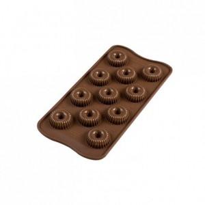 Moule silicone pour chocolat Crown Ø 30 x 15 mm
