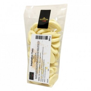 Yuzu Inspiration fruit couverture beans 200 g