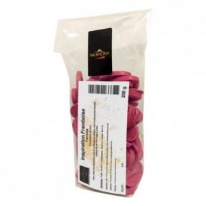 Inspiration Framboise couverture de fruits fèves 200 g