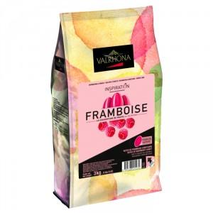 Raspberry Inspiration fruit couverture beans 3 kg