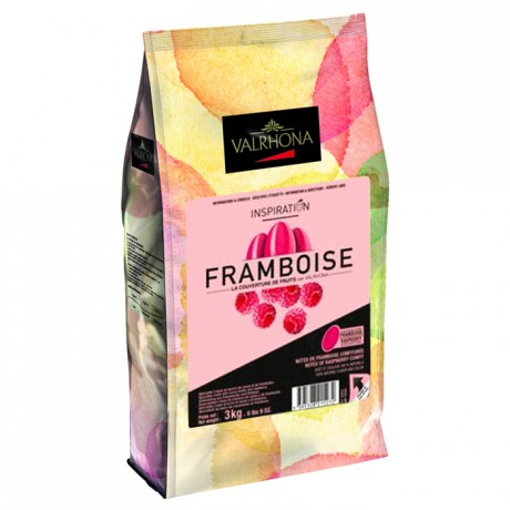 Inspiration Framboise couverture de fruits fèves 3 kg