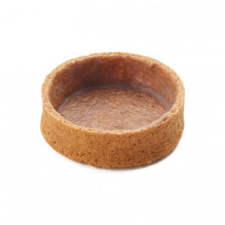 Round pie crust Graham Crunchy La Rose Noire Ø55 mm (100 pcs)
