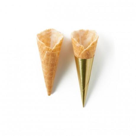 Sweet cone vanilla La Rose Noire Ø25 x 65 mm (140 pcs)