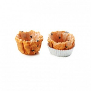 Salted basket crust tomato La Rose Noire Ø35 mm (168 pcs)