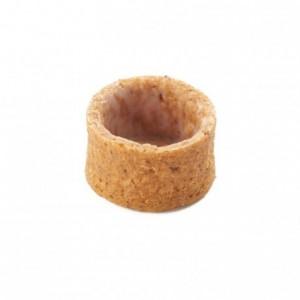 Round pie crust almond AOP butter La Rose Noire Ø30 mm (192 pcs)