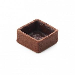 Square pie crust cocoa La Rose Noire 33 x 33 mm (216 pcs)