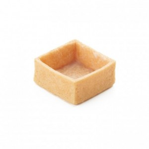 Square pie crust vanilla La Rose Noire 33 x 33 mm (216 pcs)