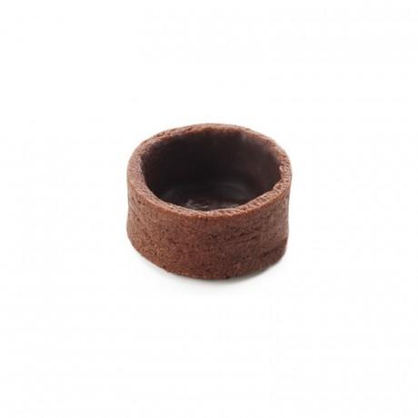 Fonds ronds extra mini cacao La Rose Noire Ø27 mm (224 pièces)