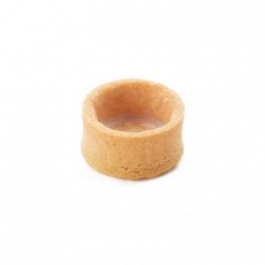 Round pie crust vanilla La Rose Noire Ø27 mm (224 pcs)