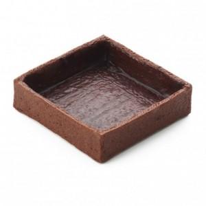 Fonds carrés grands cacao La Rose Noire 71 x 71 mm (45 pièces)