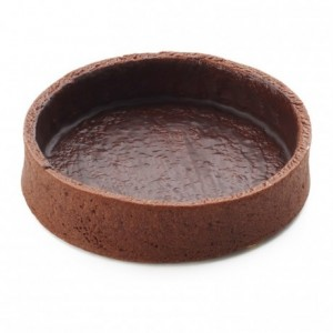 Round pie crust cocoa La Rose Noire Ø81 mm (45 pcs)