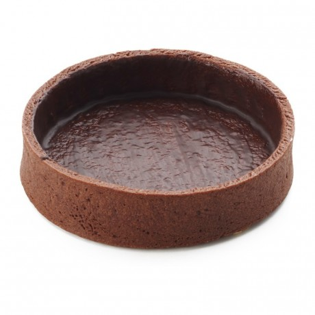 Round pie crust cocoa La Rose Noire Ø81 mm (45 pcs)