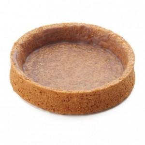 Round pie crust Graham Crunchy La Rose Noire Ø80 mm (45 pcs)