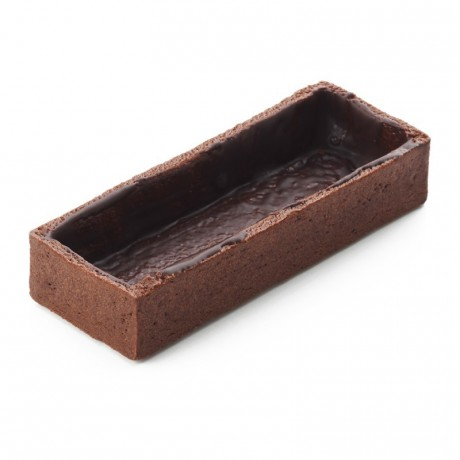 Fonds rectangles grands cacao La Rose Noire 100 x 37 mm (70 pièces)