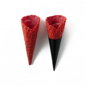 Salted cone beetroot La Rose Noire Ø30 x 70 mm (72 pcs)
