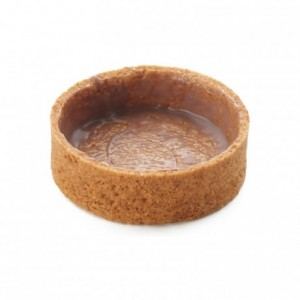 Round pie crust almond AOP butter La Rose Noire Ø50 mm (75 pcs)