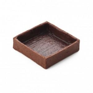 Fonds carrés moyens cacao La Rose Noire 56 x 56 mm (96 pièces)