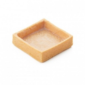 Square pie crust vanilla La Rose Noire 56 x 56 mm (96 pcs)