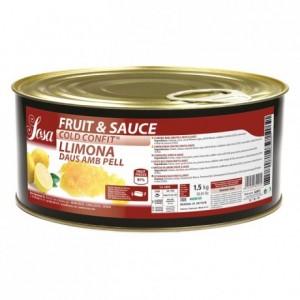 Fruit&sauce zeste de citron en dès Sosa 1,5 kg