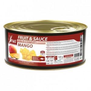 Fruit&sauce mangue en dès Sosa 1,5 kg