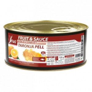 Fruit&sauce zeste d'orange en dès Sosa 1,5 kg