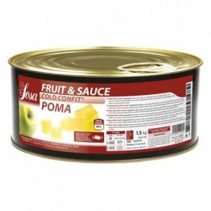 Fruit&sauce pomme en dès Sosa 1,5 kg