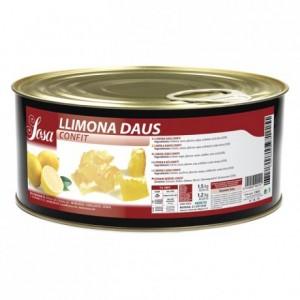 Candied lemon cubes Sosa 1,5 kg