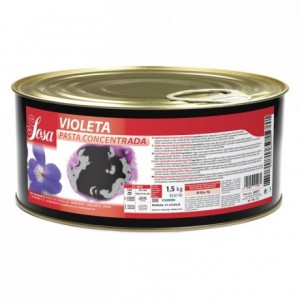 Violet concentrated dough Sosa 1,5 kg