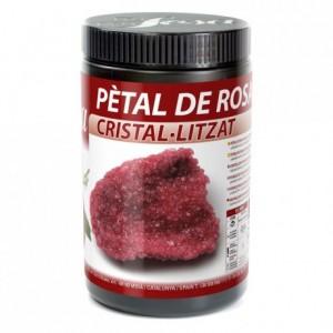 Crystallized red roses petals Sosa 300 g
